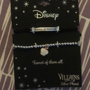 Fairest of them all villains bracelet silver